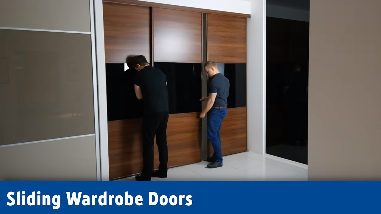 Screwfix Sliding Wardrobe Doors Youtube