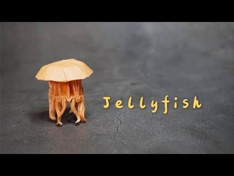 Origami Tutorial: Jellyfish (Chris Heynen)