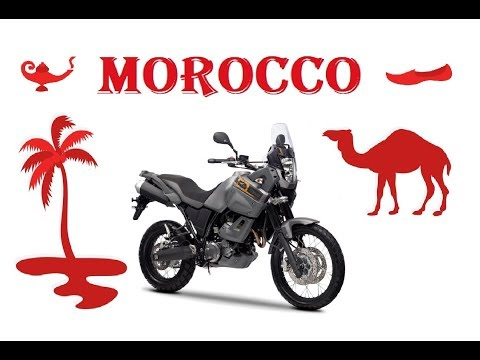 Guided Motorcycle Tours to Morocco 2018 - Make your own Adventure!