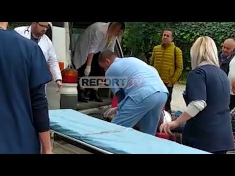 Report TV - Gardiani I Burgut Vret Me Armën E Shërbimit 2 Persona Në Poliklinikën E Patosit