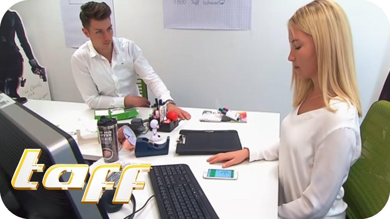 BÜRO-GADGETS im Test: ABNEHMEN im BÜRO ? | taff | ProSieben