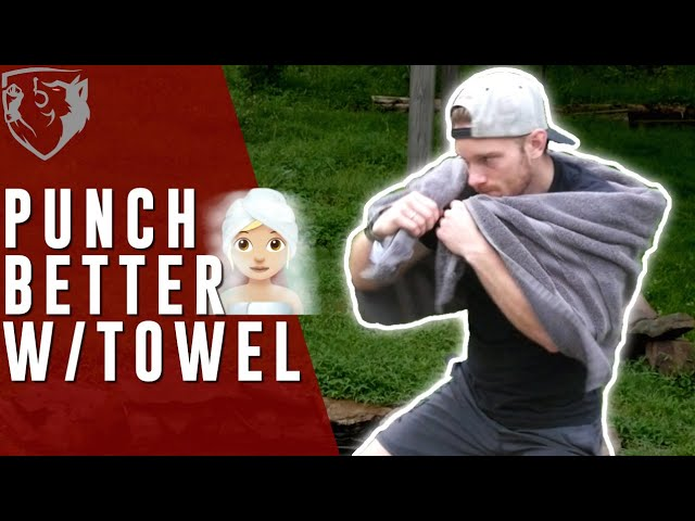 No Equipment? Improve Your Punches by Boxing with a Towel!!