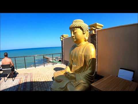 Отель Mar Le Mar Club Hotel 4* Buddha Beach Крым | Обзор отеля территория бассейн пляж море