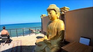 Отель Mar le Mar club Hotel 4 Buddha Beach Крым Обзор отеля территория бассейн пляж море