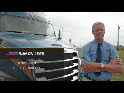 RUN ON LESS Driver Profile: Henry Albert - Albert Transport Inc.