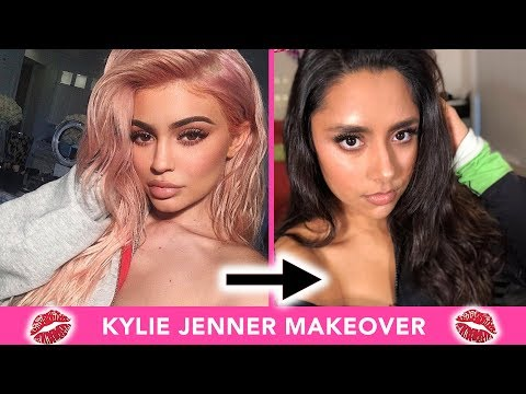 I Gave Myself A Kylie Jenner Makeover 💋