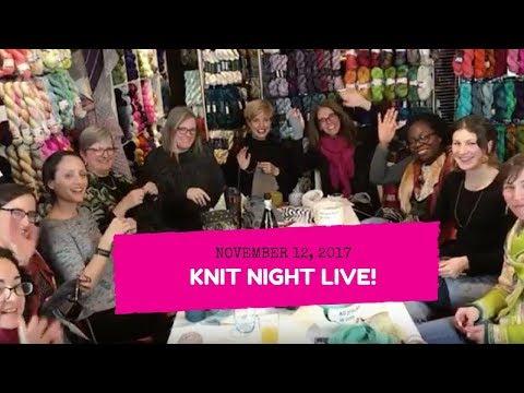 Espace Tricot Knit Night Live - November 12, 2017