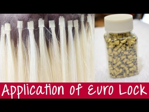 Euro lock hair extensions euroloc application instant beauty euro lock hair extensions euroloc application instant beauty youtube pmusecretfo Image collections