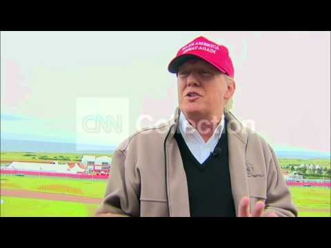 SCOTLAND: TRUMP- MEXICO WILL PAY FOR BORDER WALL
