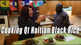 Haitian Black Rice Cooking QT
