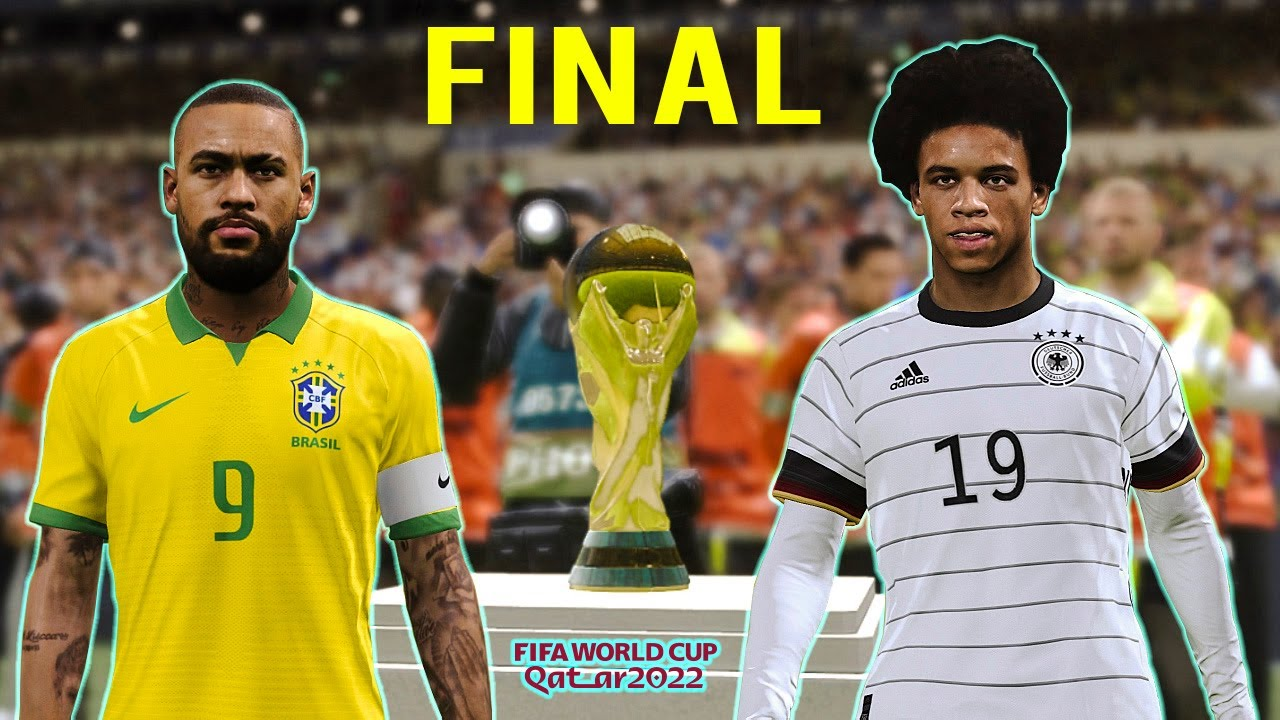 Download PES 2020 | Final FIFA World Cup 2022 | Brazil vs Germany Full Match | All Goals HD