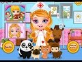 Baby Barbie Pet Hospital - Cute Barbie Girls And Pets - Games For Kids
