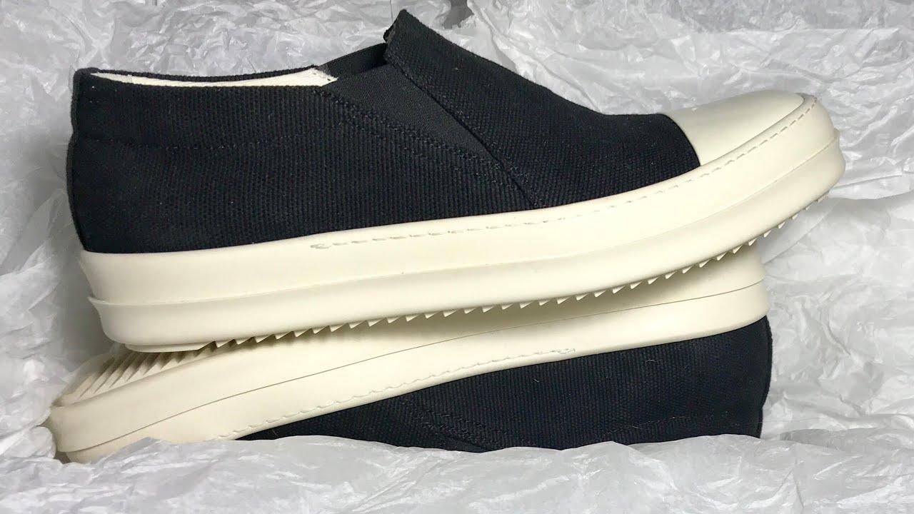 Rick Owens DRKSHDW Boat Sneaker Review