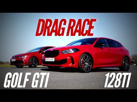BMW 128ti VS VW Golf 8 GTI : DRAG RACE