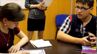 Фрагмент урока Teens Intermediate в Oxford English School г. Уссурийск