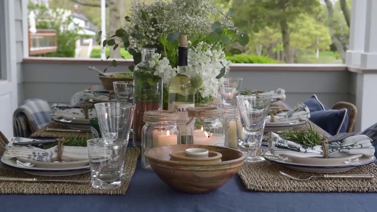 lexington company outdoor dinner inspiration 2017 youtube. Black Bedroom Furniture Sets. Home Design Ideas