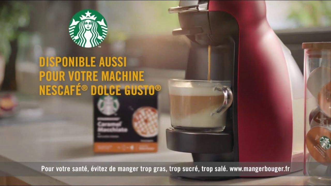 Musique de la pub Capsules Starbucks Nespresso & Caramel Machiato Nescafé Dolce Gusto  2021