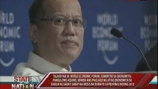 Talakayan sa World Economic Forum, sumentro sa ekonomiya