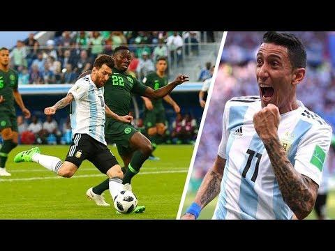 Top 10 goles de la Selección ARGENTINA | 2018