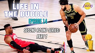 Life in the Bubble: Ep. 14 - Second Round Series - Lakers v. Rockets: Part 1 | JaVale McGee Vlogs
