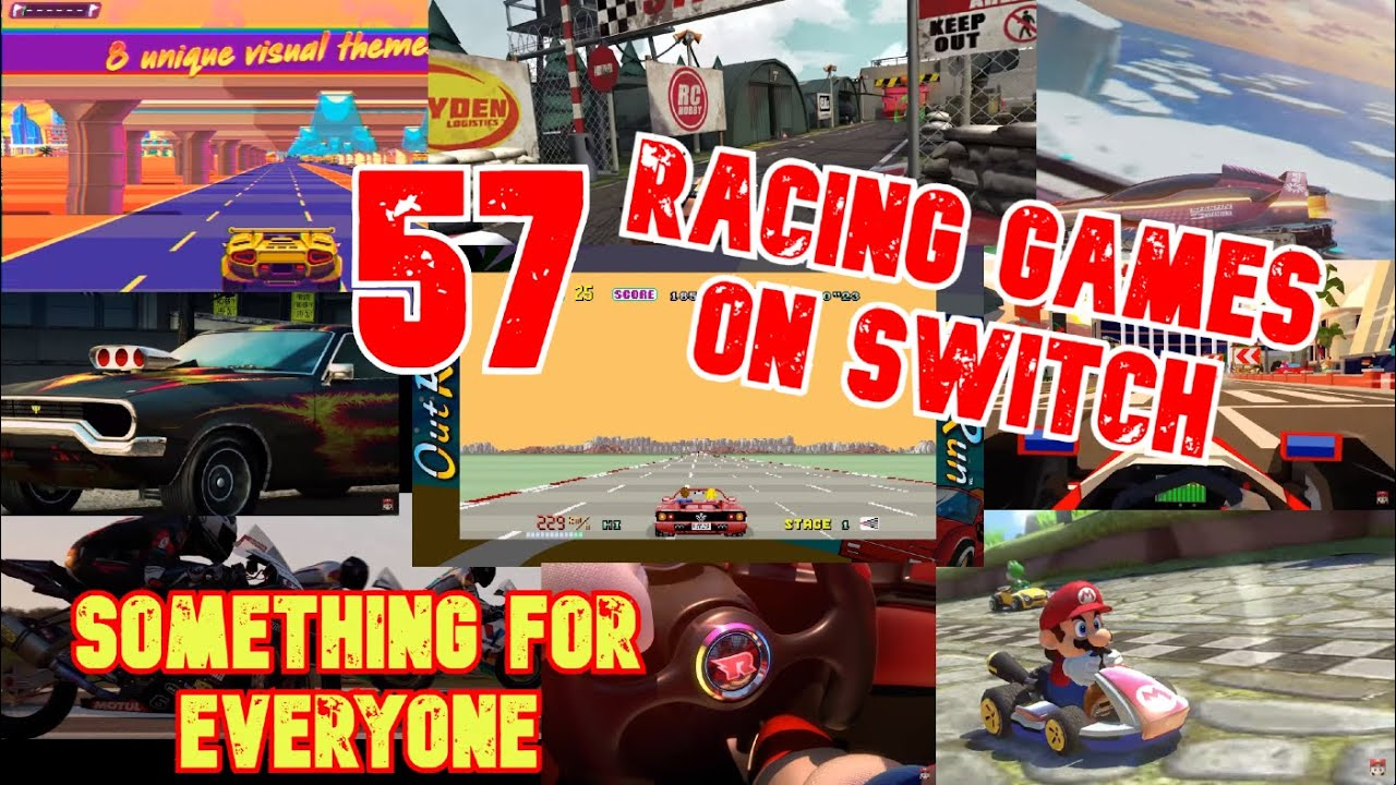 Download 57 Racing Games on Switch | Something for Everyone