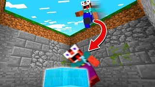 NOOB VS.  DROPPER MAIS FÁCIL DO MINECRAFT!