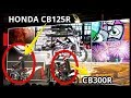 2018 Honda CB125R And CB300R