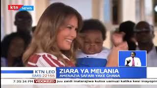 Melania Trump yuko barani Africa katika ziara inayotarajiwa kumalizika Oktoba saba