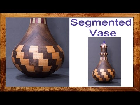 Woodturning Segmented Vase