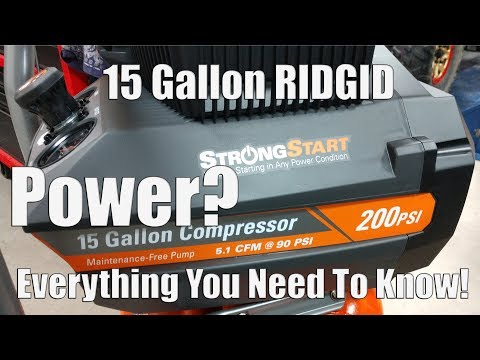 ridgid-200-psi-15-gallon-portable-electric-air-compressor-review-|-model-#-of150200a