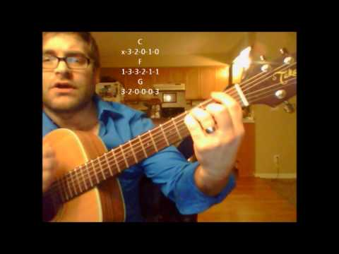How to play Never Tear Us Apart  INXS on acoustic guitar