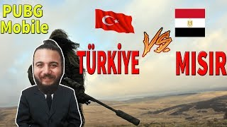AS BAYRAKLARI! PUBG Mobile TÜRKİYE VS MISIR - TURKEY VS EGYPT Clan (FBI,PG,EG)