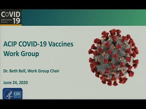 June 2020 ACIP Meeting - COVID-19 Vaccines Introduction