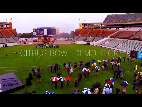 Citrus Bowl Demolition
