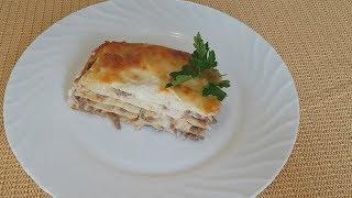 Классический рецепт лазаньи
