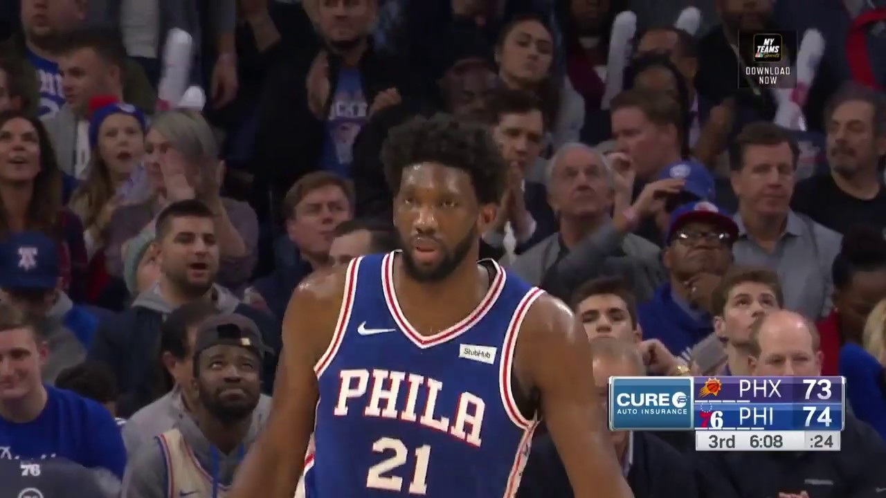 Joel Embiid  Highlights vs Phoenix Suns (11.19.18)