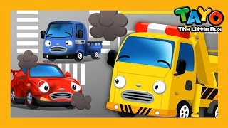 Toto the Tow Truck l Job Game #6 l Learn Street Vehicles l Tayo the Little Bus