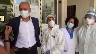 Covid Hospital, per Francesco Cipollone la sinergia Chieti-Atessa ha funzionato, va proseguita
