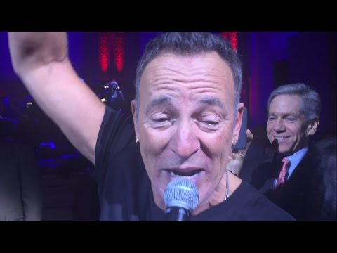 Watch Bruce Springsteen Play Funky 'Tenth Avenue Freeze-Out' at Sting Benefit
