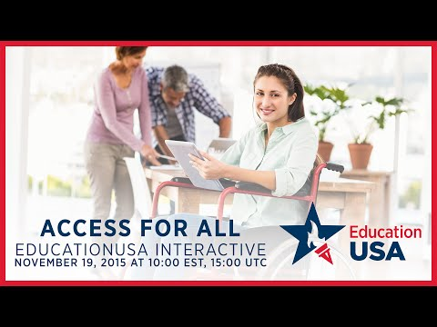 EducationUSA Interactive: Access for All