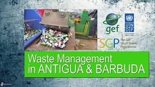 SGP Antigua and Barbuda: Waste management