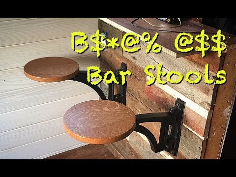 B$*@% @$$ Bar Stools from Benchcrafted.com