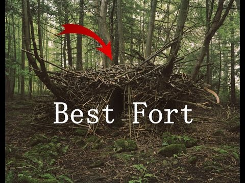 HOW TO BUILD A FORT!! **Easy way**