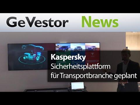 Cybersecurity für Autos – Kaspersky baut Sicherheitsplattform für die Transportbranche