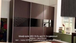 """Шкафы купе фабрики """"дана"""" - youtube."""