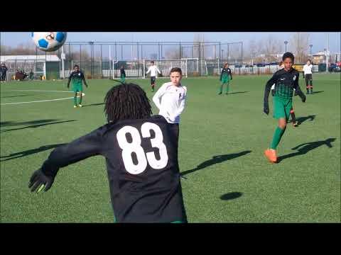 2E helft Bekerwedstrijd IJburg AFC JO13-1  vs  Dream Team JO13-1