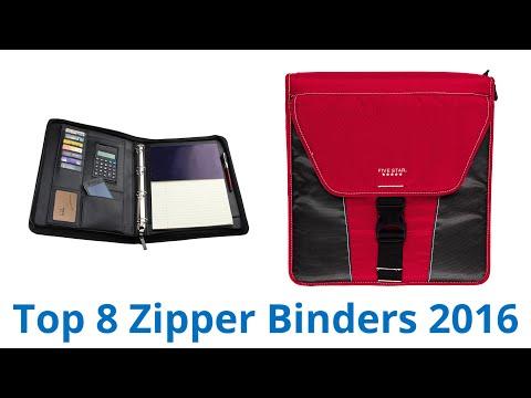 8 Best Zipper Binders 2016