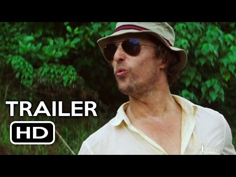 Gold Official Trailer #1 (2016) Matthew McConaughey Drama Mo