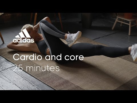 25 min Cardio & Core Workout with Zanna van Dijk | adidas women workouts