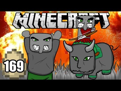 Minecraft Survival Indonesia - Desa di Serang Pillager! (169)